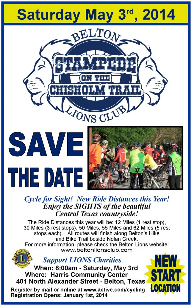 2014 Stampede Save the Date