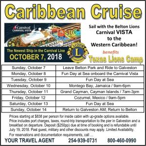 2018 Vista Cruise