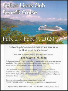 Lions 2020 Cruise