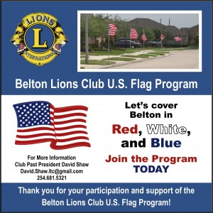 FB Lions Flag Program